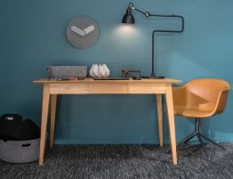 Copenhagen Office Desk - Oak