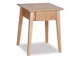 Copenhagen Bedside Table w Draw - Oak