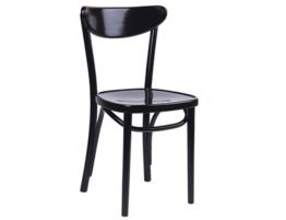 Bentwood Roundback Chair - Black