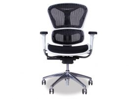 Vytas Black/White Office Chair