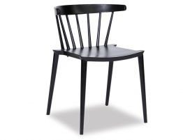 Saloon Chair - Black