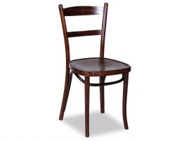 linz bentwood dining chair michael thonet designed walnut