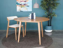 Copenhagen Table - 120cm - Round - Natural