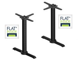 Flat Tech Cafe Twin Table Base - AUTO-ADJUST KT22 (Min. order 4)