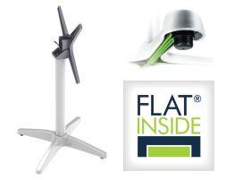 Flat Tech Cafe Flip Top Table Base - AUTO-ADJUST CX26 (Min. order 4)