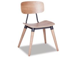 Match Chair - Natural - Black