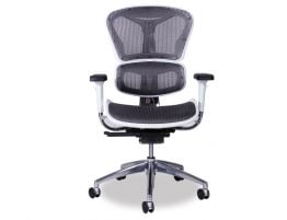 Vytas Grey/White Office Chair