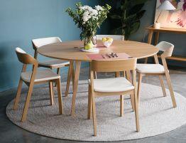 Copenhagen Table - 155cm - Round - Natural