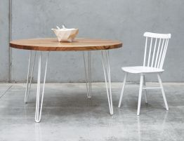 Bernie Table - Round - Natural