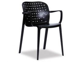 A-Buso Arm Chair - Black