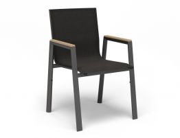 Vydel Armchair - Outdoor - Charcoal