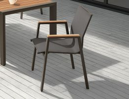 Vydel Armchair - Outdoor - Charcoal