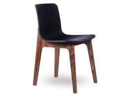 Ara Chair - Walnut - Black Shell