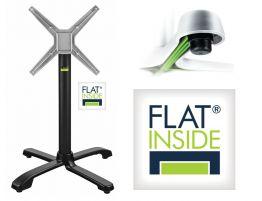 Flat Tech Cafe Black Flip Top Table Base - AUTO-ADJUST SX26 (Min. order 4)