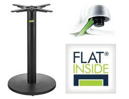 Flat Tech Cafe Table Base - AUTO-ADJUST UR17 (Min. order 4)