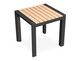 Vydel Side Table - Outdoor - 48x45x45cm - Charcoal