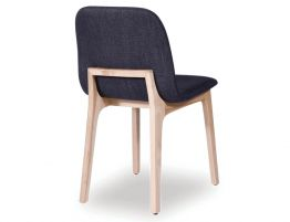 Maxwell Chair - Natural - Charcoal Fabric