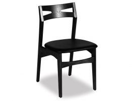 Laak Chair - Black - Black Pad