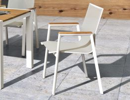 Vydel Armchair - Outdoor - White