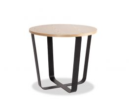 Kellie Coffee Table - Small - Black - Natural