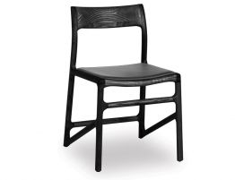 Nora Chair - Black - Black Pad