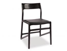 Nora Chair - Black - Black Pad