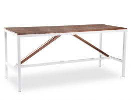 Cape Outdoor High Bar Table - Spotted Gum