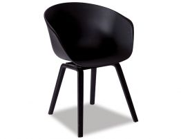 Sila Chair - Black - Black Shell