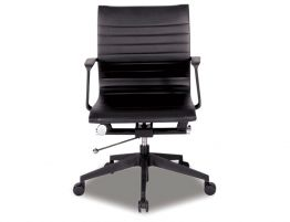 Iconic Management Office Chair - Low Back - Black
