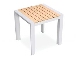 Vydel Side Table - Outdoor - 48x45x45cm - White