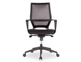 Mokum Office Chair - Black - Black Padded Seat