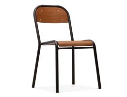 Eddy Chair - Black - Natural