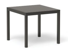Halki Table - Outdoor - 90cm x 90cm - Charcoal