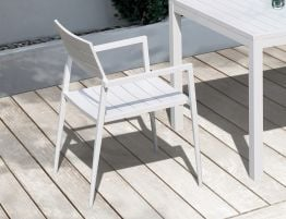 Halki Chair - Outdoor - White
