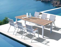 Naxos Table - Outdoor 240x100cm - White