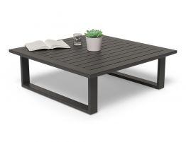 Vivara Outdoor Coffee Table - 85x85cm - Charcoal 85x85cm