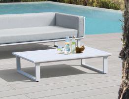 Vivara Outdoor Coffee Table 142x85cm - White