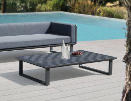 Vivara Outdoor Coffee Table - 142x85cm - Charcoal