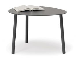 Cetara Side Table - Outdoor - Charcoal