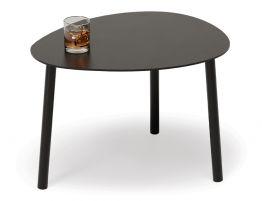 Cetara Side Table - Outdoor - Black