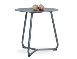 Tropea Side Table - Outdoor - Charcoal