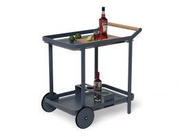 Imola Outdoor Bar Cart - Midnight Blue