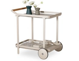 Imola Outdoor Bar Cart - Champagne