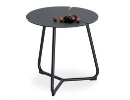 Tropea Side Table - Outdoor - Black