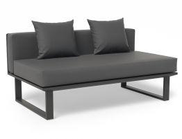 Vivara Sofa - Charcoal - Modular Section C - No Arm
