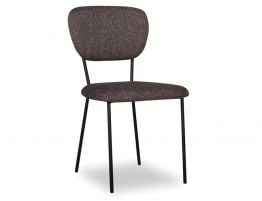 Filo Chair in Charcoal Fabric