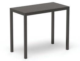 Halki Table - Outdoor - High Bar - 125cm x 65cm - Charcoal