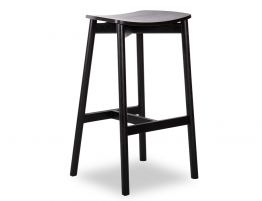 Andi Stool - Black - Backless