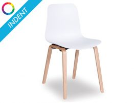Siloh Chair with Natural legs - Indent