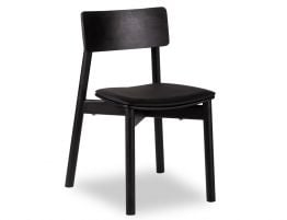 Andi Chair - Black Ash - Black Pad